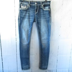 Rock Revival Jeans - *SOLD* Rock Revival Skinny Jeans Yeon Faux Flap